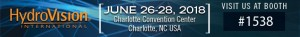 Albarrie GeoComposites will be at booth #1538 at Hydro Vision June 26 - 28 2018