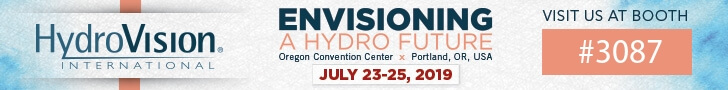 HydroVision - visit Albarrie at booth no. 3087 and enter the draw for a chance to win a Harley Davidson!