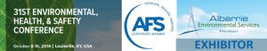Exhibitors at the American Foundry Society's Environmental Health & Safety Conference 2019 - Albarrie Environmental Services will be exhibiting
