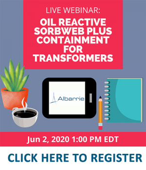 Albarrie GeoComposites now hosting educational webinars on spill containment systems