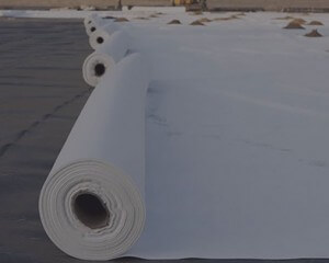 Geotextiles for filtration, drainage, protection, separation, stabilization, reinforcement, and isolation