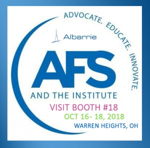 Albarrie will be at the American Filtration Society Environmental Health and Safety Conference