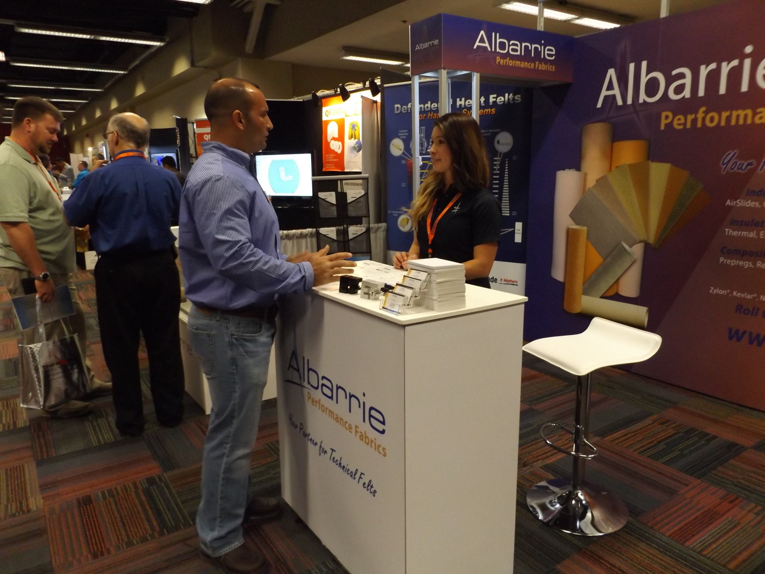 Industrial fabrics, Technology, aluminum extrusion, ET'16, technical felts, Albarrie, Technical seminar, Chicago