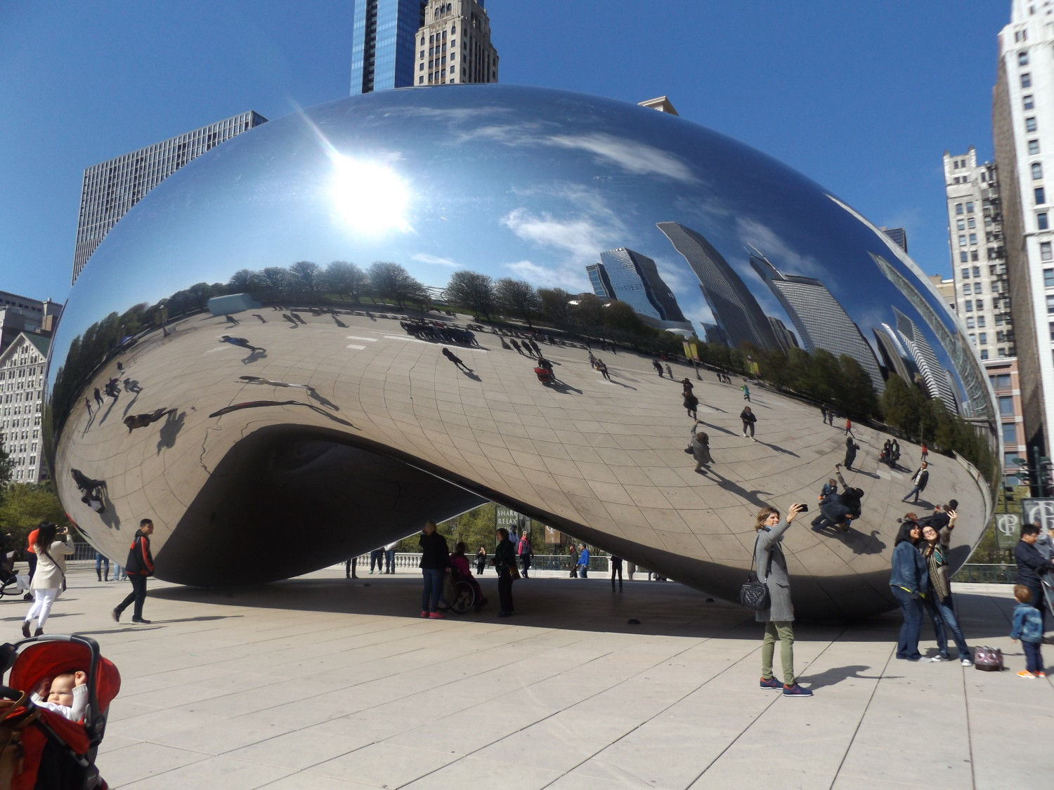 Cloud gate, chicago, IL, ET'16 Extrusion technology