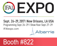 Industrial Fabrics Association International Trade Show - Albarrie is exhibiting at Booth #822