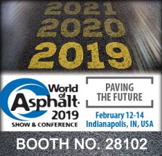 Visit Albarrie at World of Asphalt 2019 at booth no. 28102