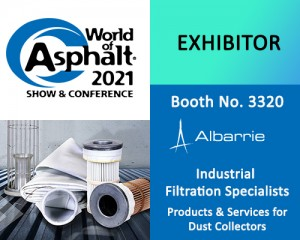 World of Asphalt suppliers, Albarrie is an exhibitor at booth no. 3320