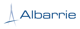 Image result for albarrie logo