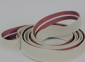 Nomex endless belt with base coating, for cooling, stretching, and batching, operating temp 450 farenheit
