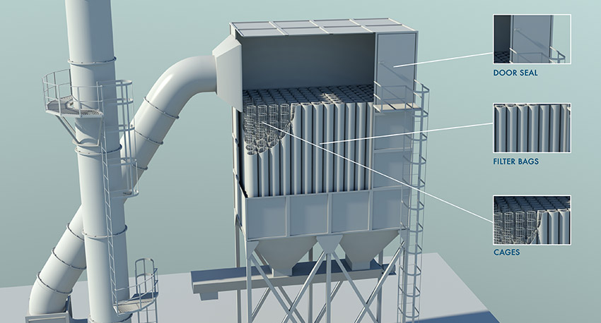dust collector baghouse maintenance