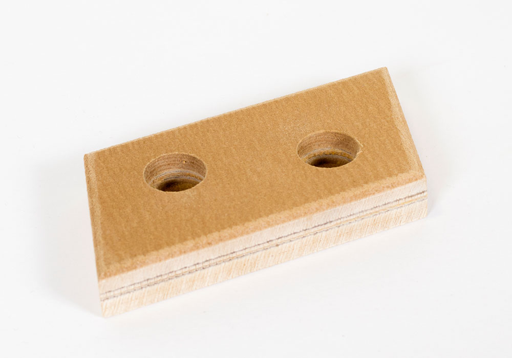 Felt pads for waterjet cutting, thick felt pads