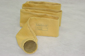 High temperature filter bag, Meteor industrial Filter produced by Albarrie made using Polyimide and Basalt