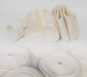 Nonwoven Nomex Filtration media and industrial filter bags for air filtration