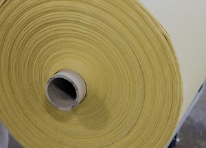 Albarrie produces Rolled goods using P84 high grade Polyimide, heat resistant material, rolls of material