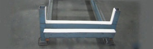 Felt interlining for aluminum extruders - protect aluminum from marking and scratching caused by age ovens and storage racks