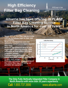 Filter Bag Cleaning for Asphalt Producers