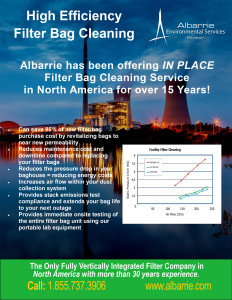 Industrial Filter bag Cleaning for Dust Collectors in the Power Industry