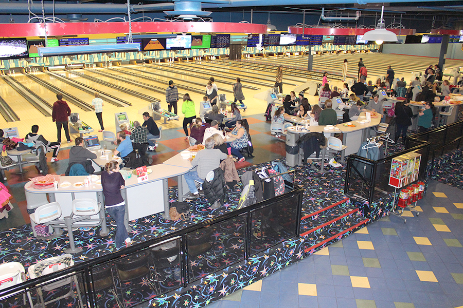 Albarrie's Annual Bowling night for employees and family