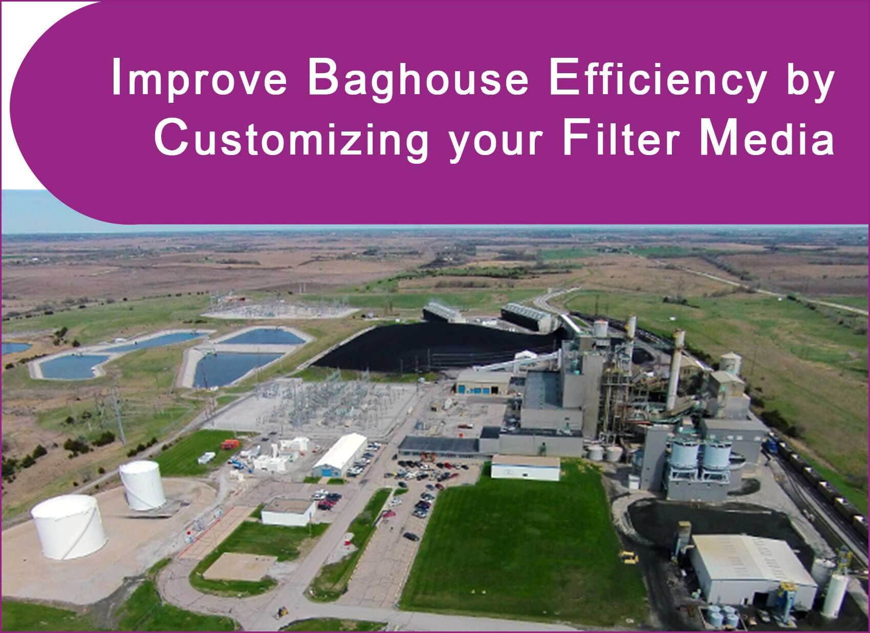 P84 felt and P84 scrim were determined to be the most cost-effective configuration based on the plant's particle size distribution, temperature of the bag, and level of acid products in the exhaust gas.