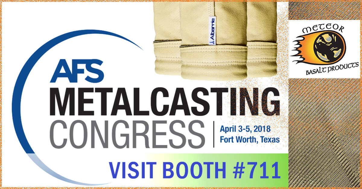 AFS Metalcasting Congress Exhibitor Albarrie produces baghouse filter bags in North America - Visit #711