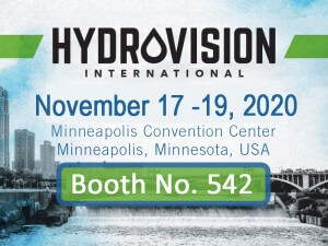 HydroVision Trade Show - Returning Exhibitor Albarrie