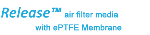 Release air filter media by Albarrie