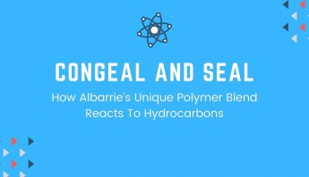 Congeal and seal how hydrocarbons and our polymers react